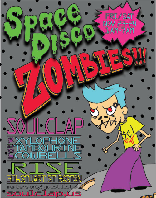 Space Disco Zombies at Rise