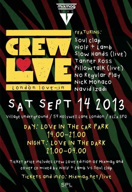 Crew Love LDN Mixmag