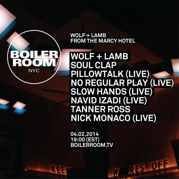 Stream the Wolf + Lamb Boiler Room Session