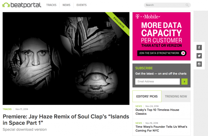 Islands in Space pt. 1 - Jay Haze Remix