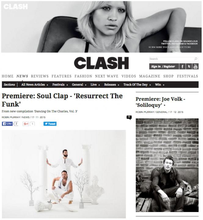 Clash Magazine!
