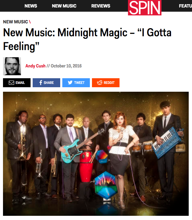 Midnight Magic is on SPIN online!