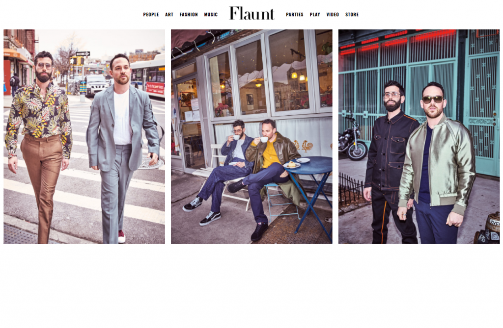 We Flaunt it for Flaunt Magazine!